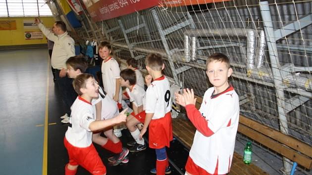 Vánoční halový turnaj mladých fotbalistů v Písuk