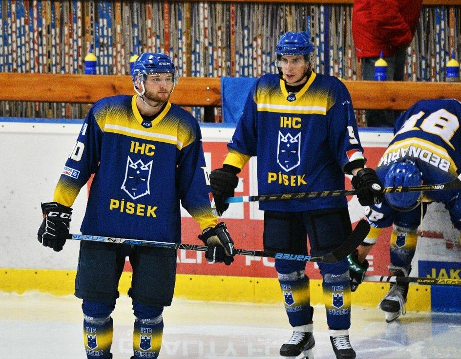 Přípravný hokej: IHC Králové Písek - HC Příbram 4:3.