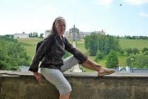 1. Lenka Vlková. Foto: Archiv Lenky Vlkové