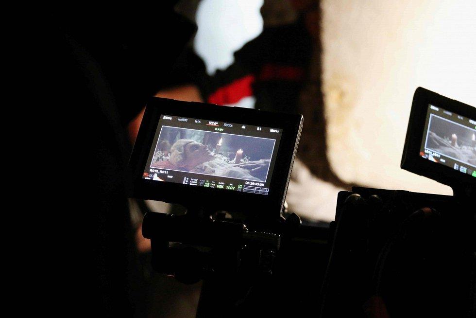 Z natáčení nového 3D filmu studentů písecké filmové školy.