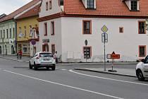 Veškerá doprava v Milevsku vede přes centrum města.