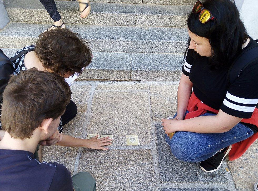 Terénní workshop k projektu Kameny zmizelých.