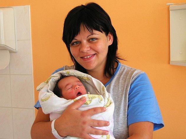 Šárka Dupalová, 23. 9. 2009, 21.47 hodin, 2850 g, 49 cm, Týn nad Vltavou