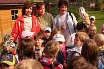 Mezi nejčastější návštěvníky Makova patří děti.