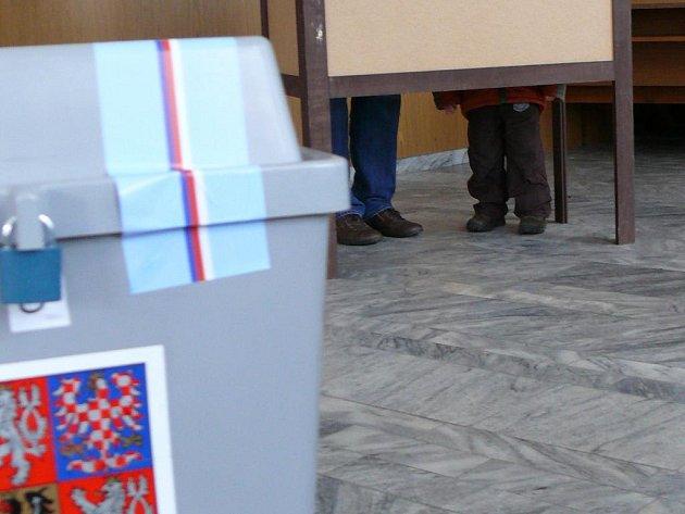 Komunální volby 2010, písecká volební místnost č. 8
