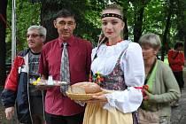 Zahájení folklorního festivalu v Písku.