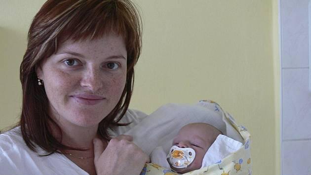 Kamila Nováková, 17.6.2009, 21.23 hodin, 2600 g, 46 cm,  Písek