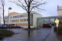 Písek, nový pavilon Nemocnice Písek. Ilustrační foto