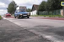 Zpomalovací pruhy v Temešváru.