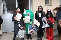 Halloween party v čimelické škole.