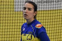 Alexandra Merglová skórovala proti Mostu celkem čtyřikrát a byla druhou nejlepší střelkyní svého týmu.