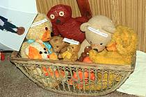 Retro hračky. Ilustrační foto.