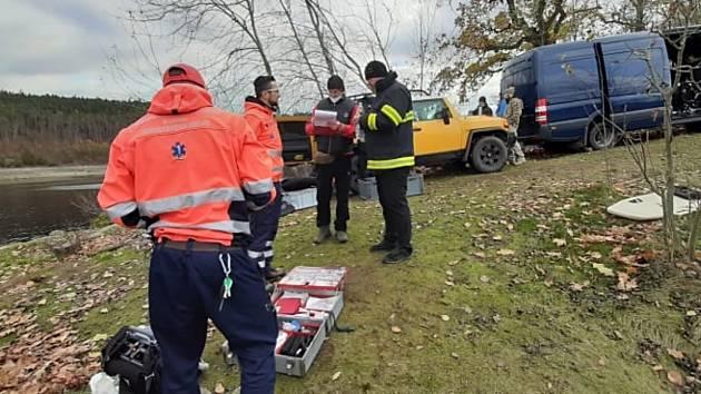 V úterý 17. listopadu byl v Orlické přehradě nalezen utonulý potápěč.