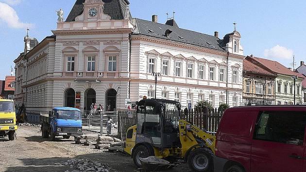 Poslední velkou rekonstrukcí v Písku prošla Komenského ulice.