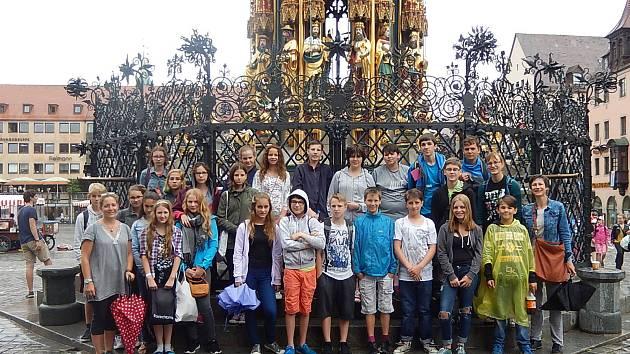 Návštěva v Norimberku.