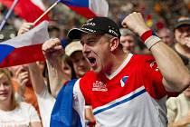 Martin Komárek na mistrovství světa v Německu získal bronz.