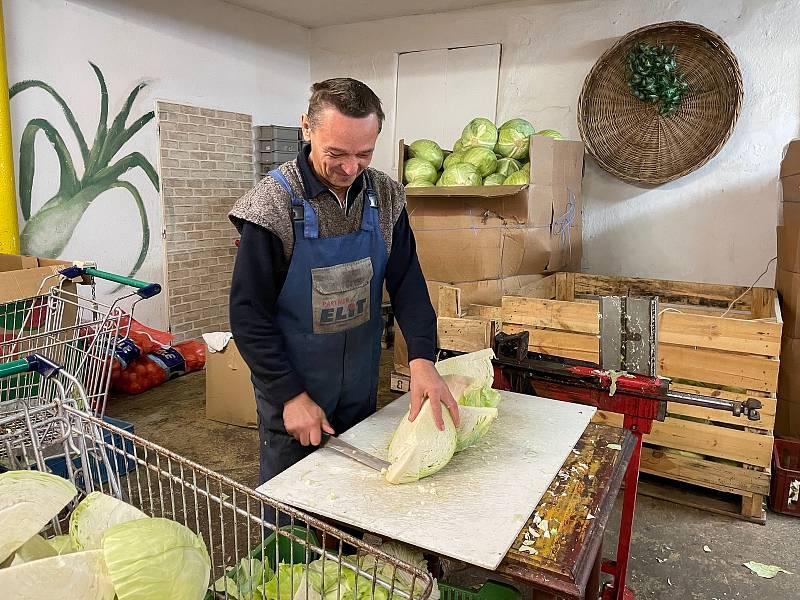 Od hlávky až ke spotřebiteli to zelným hlávkám trvá téměř měsíc.