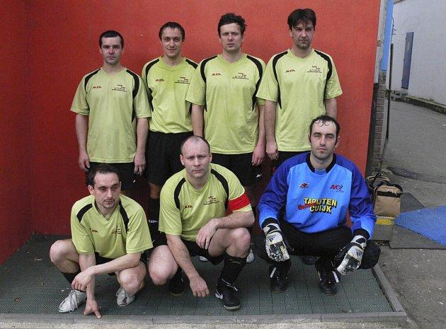 Mužstvo AC Parta (na snímku) je v tabulce okresní soutěže - skupiny o postup ve futsalu-FIFA na sedmém místě.
