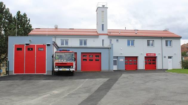 Požární zbrojnice v Protivíně.