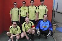 Mužstvo AC Parta (na snímku) je v tabulce okresní soutěže ve futsalu-FIFA - skupiny o postup na osmém místě.