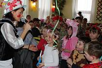 Dětský maškarní bál v Sepekově.