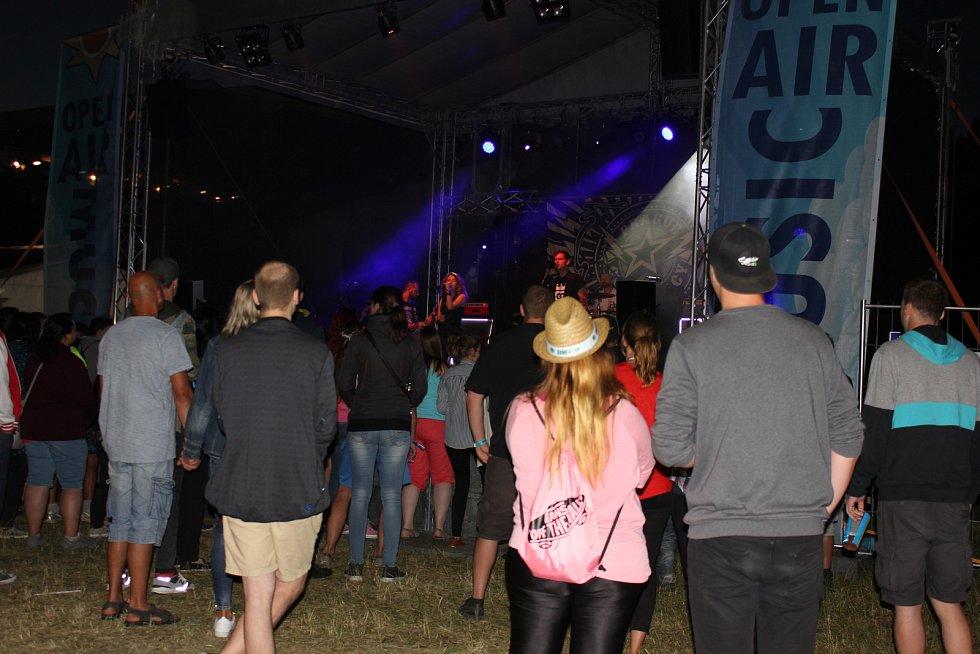 Open air music fest Přeštěnice.