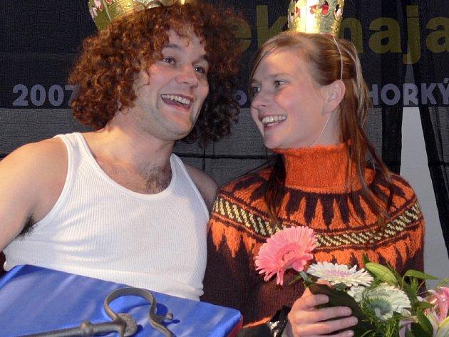 Novým králem a královnou studenstského majáles se stali Milan Choulík a Eva Kouďová (oba z Písku), kteří od starosty Miroslava Sládka převzali symbolický klíč od města.