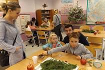 Tradiční vánoční jarmark v II. ZŠ J. A. Komenského Milevsko. Foto: Markéta Radostová