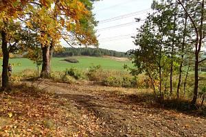 Bývalý vojenský prostor Oldřichov.