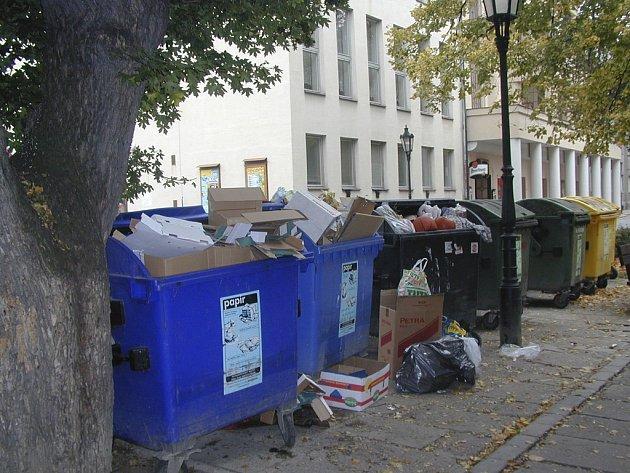 Nedostatečné třídění zvyšuje náklady na svoz a ukládání  odpadu.