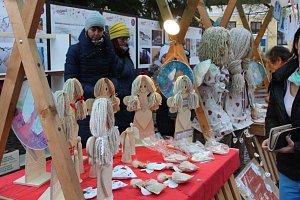 Charitativní prodej andílků