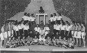 Tělocvičná akademie - rok 1938.