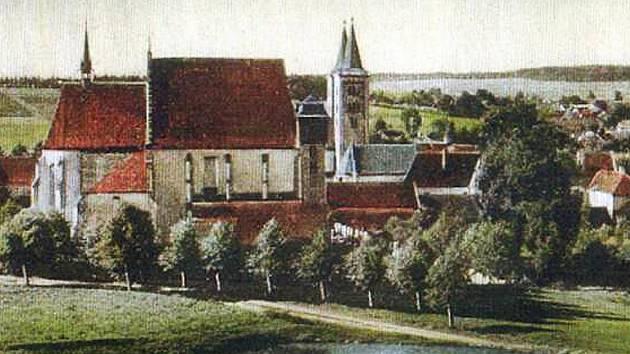 Takto kdysi vypadal klášter v Milevsku, kde dnes sídlí Milevské muzeum.