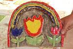 Keramický kroužek při základní škole v Čimelicích.