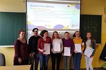 Ocenění žáci z Benešovky si převzali ceny.
