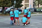 Pochod za zdravé chlapy v Písku.