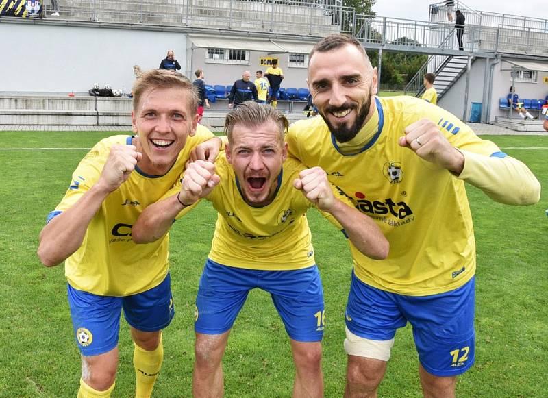 Fortuna ČFL: FC Písek - Motorlet Praha 2:0.