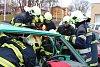 Hasiči se učili speciální postupy vyprošťování u dopravních nehod
