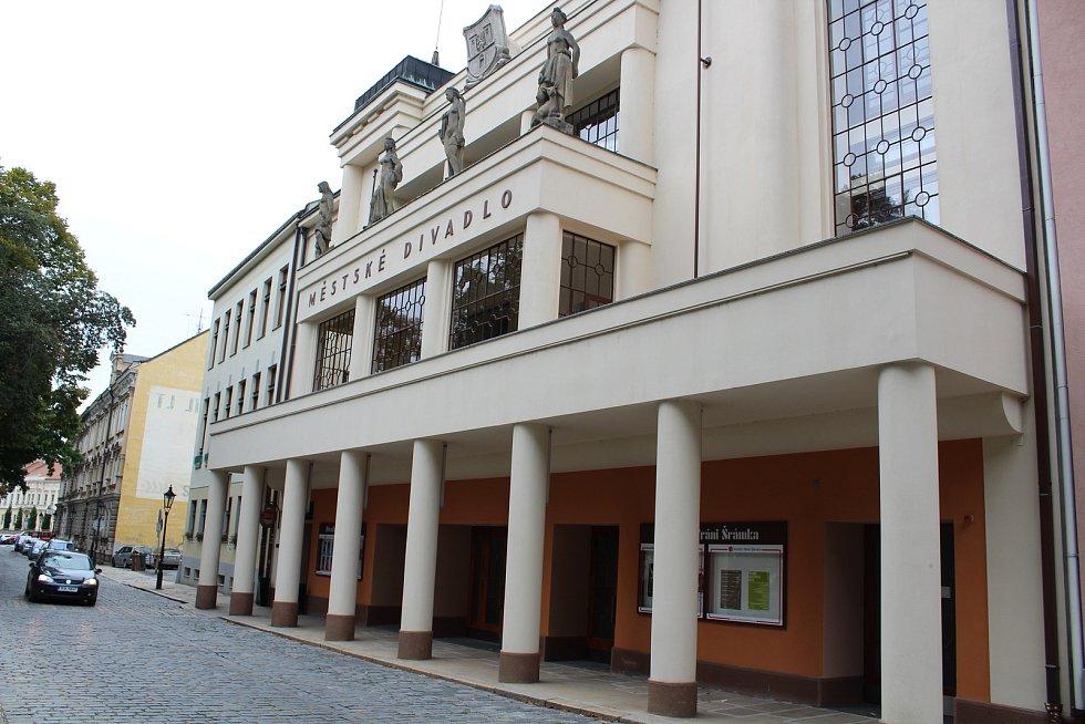 Písek, Divadlo Fráni Šrámka. Ilustrační foto
