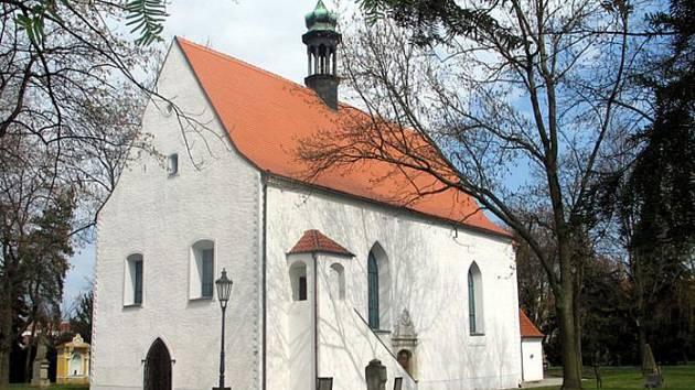 Kostel Nejsvětější trojice v Písku.
