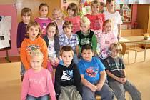 Prvňáčci ze Základní školy Čimelice.