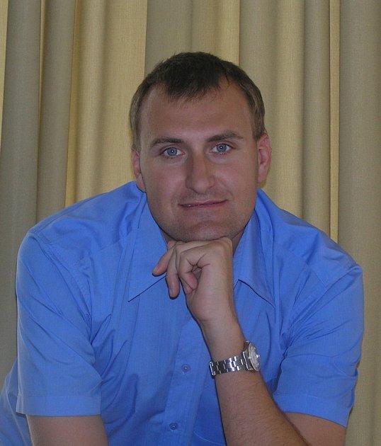 Místostarosta Písku Tomáš Dušek (ODS)