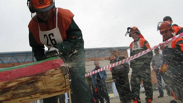 Soutěž v odborných lesnických dovedností