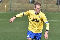 Fotbalista FC Písek Tomáš Froněk.