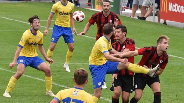 FC Písek – TJ Jiskra Domažlice 0:1 (0:1).