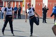 Krajská soutěž HZS Jihočeského kraje v požárním sportu 2018 v Písku