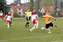 TJ Hradiště B – SK Oslov 8:0 (2:0).