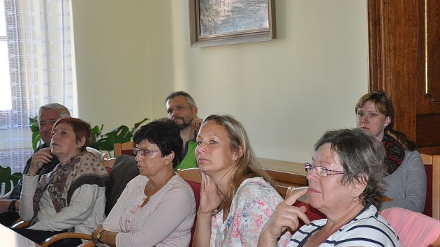 Veřejné projednávání studie Jih na radnici v Písku