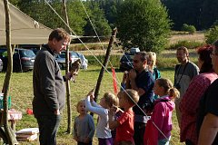 Poznávací akce u rybníka Řežabinec. Ilustrační foto