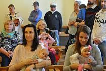 V obřadní síni radnice v Písku se v pondělí 6. března uskutečnilo slavnostní vítání dětí